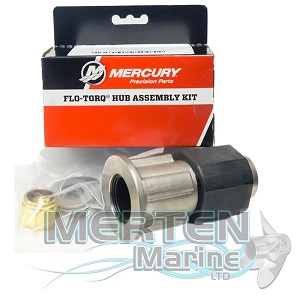 "Flo-Torq II SSR, HD 1-1/4"" Propshafts Mercury Hub Kit"