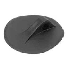 "D-Ring Molded for PVC boats - Black color - 5"" (127mm)"