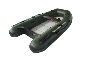 Adventure 270 Sport Inflatable Boat - PVC Green