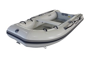 Air Deck 250/270 Inflatable Boat - HP White
