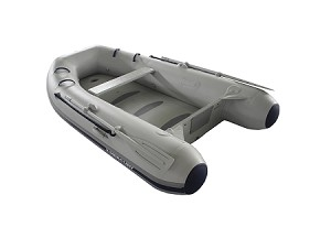 Air Deck 290/310 Inflatable Boat - PVC Gray