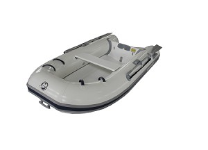 Dynamic 260 Inflatable Boat - HP White