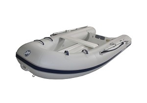 Dynamic 280 Inflatable Boat - PVC Gray