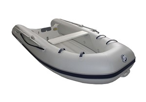 Dynamic 310 Inflatable Boat - PVC Gray