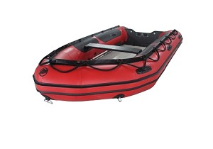 Heavy Duty 380 Inflatable Boat | PVC Red Fabric