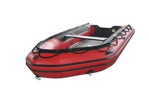 Heavy Duty 430 Inflatable Boat | PVC Red Fabric