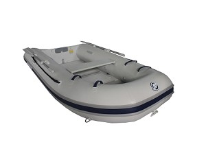 Sport 240 Inflatable Boat - PVC Gray