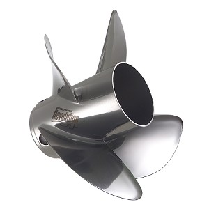 "14-5/8 x 19 Pitch | Revolution 4 Mercury Propeller | RIGHT-HAND | 1.25"" Flo-Torq SSR HD Hub Kit 