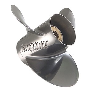 10-3/8 x 13 Pitch | Vengeance Mercury-Mariner Propeller | 9.9-15 HP Bigfoot 4-Stroke, 20-25 HP | RIGHT-HAND | 19644A5